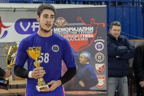 Najbolji igrač turnira Radovan Ostojić (Metaloplastika) (Foto: Đorđe Đoković)