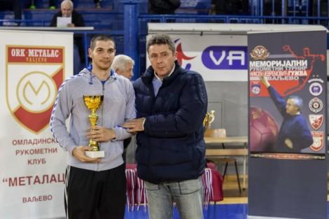 Najbolji strelac turnira Dejan Milinković (Metalac) (Foto: Đorđe Đoković)