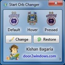 Windows 7 Start Orb Changer v5