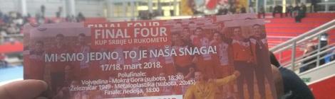 Polufinale kupa Srbije - 17.3.2018. - Slaan Bara, NS - Železničar 1949-Metaloplastika 27:26 (15:14)